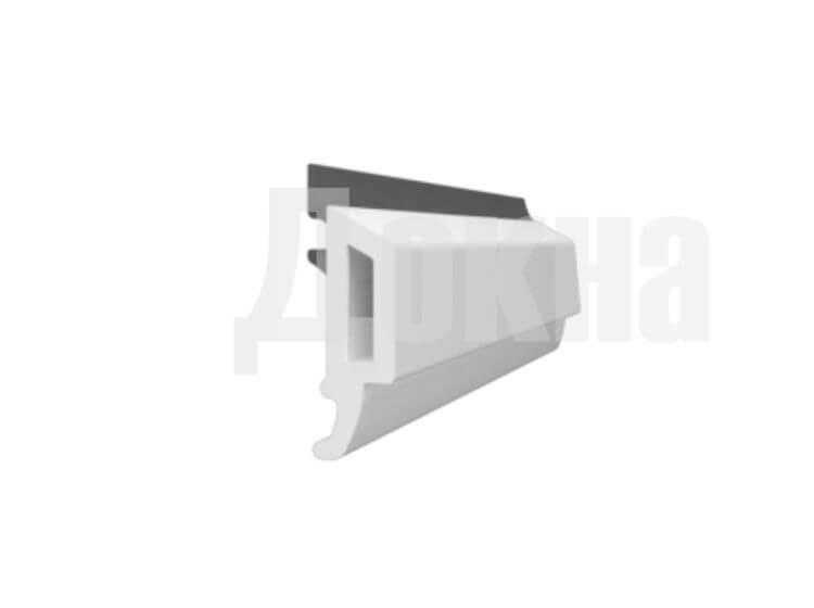 Штапик для двухкамерного стеклопакета