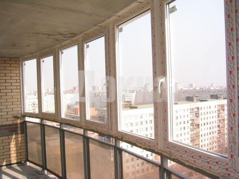 Панорамное остекление комнаты